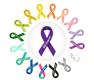 All Cancers Ribbons