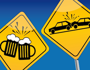 Drunk Driving Accidents Signs