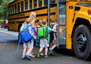 People Injured in School Bus Accidents