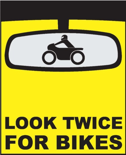Look twice for bikes