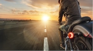 Motorcyclist Road Experience and Accident Avoidance