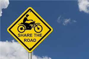 Share the road signal